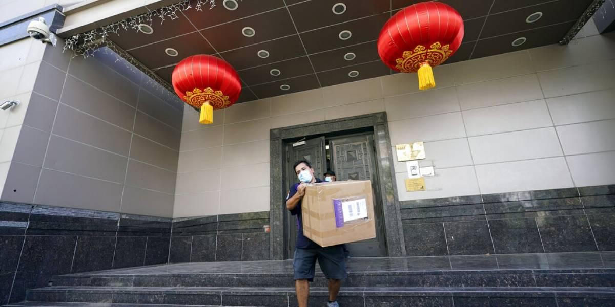 China ordena el cierre del consulado de EE. UU. en Chengdu