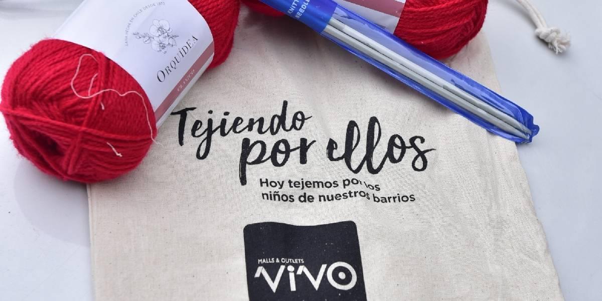 Campaña solidaria entrega 3.000 kits de lana a quienes quieran tejer bufandas, gorros y calcetines para niños vulnerables