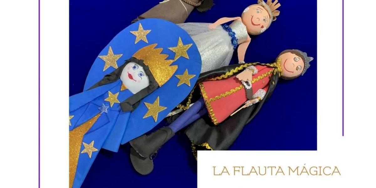 Para partir el mes del niño con todo: Ópera de Mozart llega a la cartelera con títeres para los más chicos