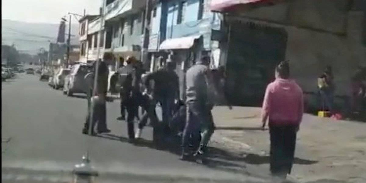 Quito: moradores de Santa Rita lincharon a dos supuestos ladrones