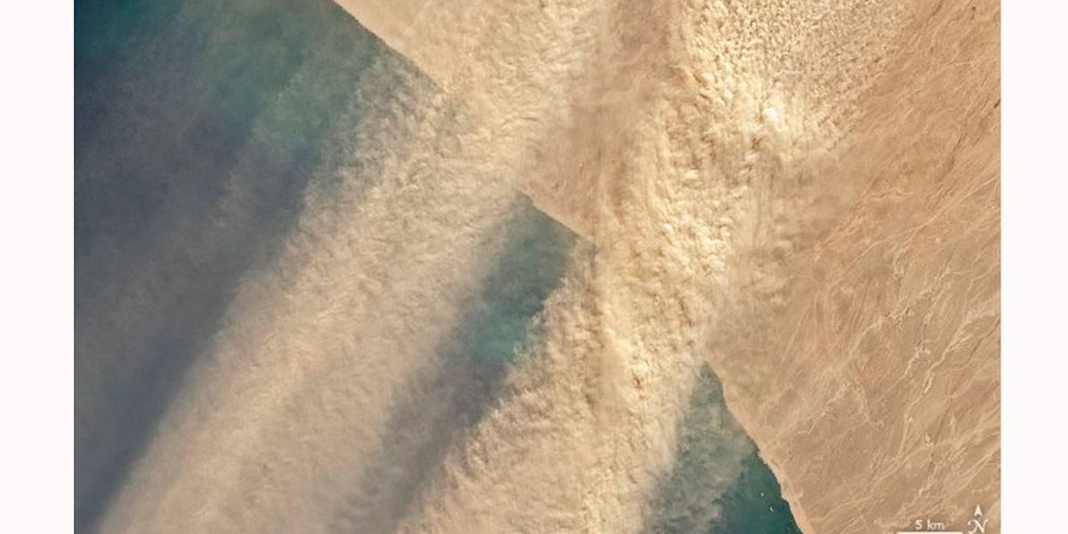Nuvem gigante de poeira do Saara deve chegar as EUA no domingo