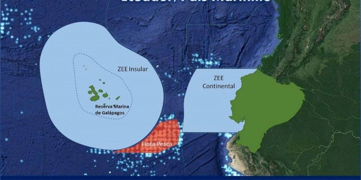 Galápagos: Canciller del Ecuador reaccionó a presencia de barcos con banderas chinas