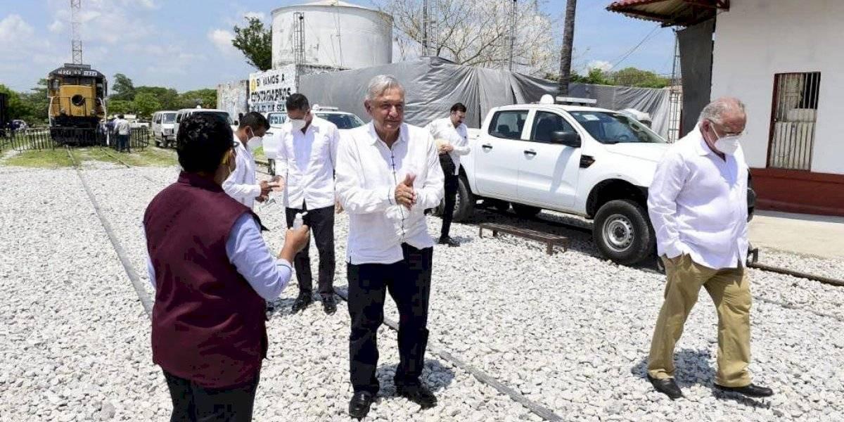 Tras tocar fondo, ya inicia la recuperación económica: AMLO en Oaxaca