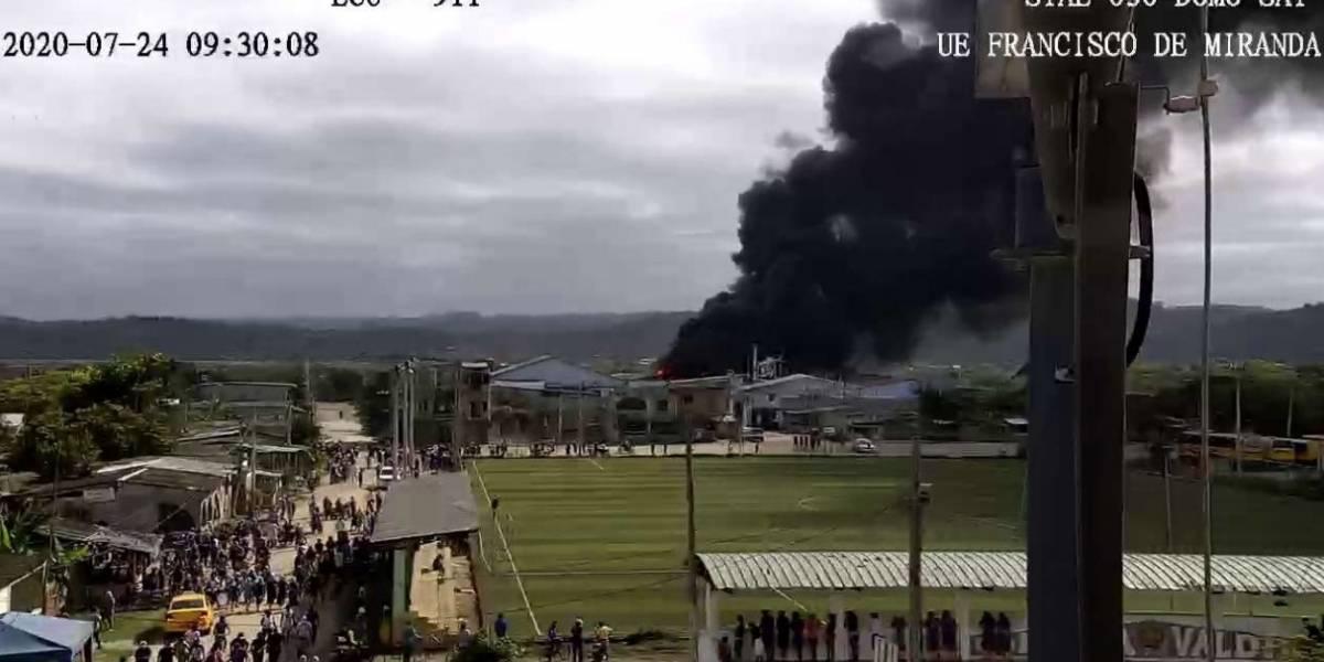 Santa Elena: reportan explosión en fábrica empacadora de alimentos