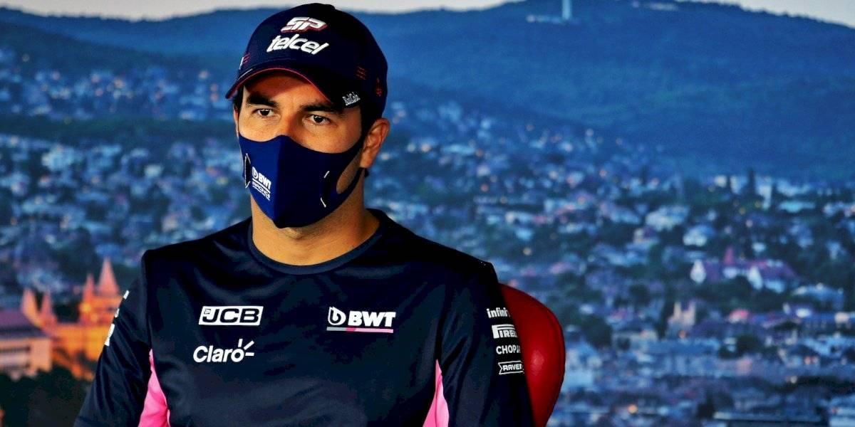 Checo Pérez, el primer piloto de la F1 que da positivo por Covid-19