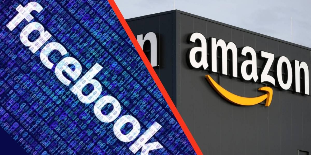 Facebook, Google, Amazon y Apple son investigados por posibles fraudes