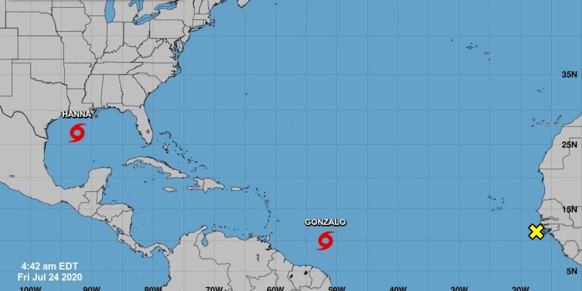 Mientras Gonzalo se acerca al Caribe, la tormenta Hanna gana fuerza