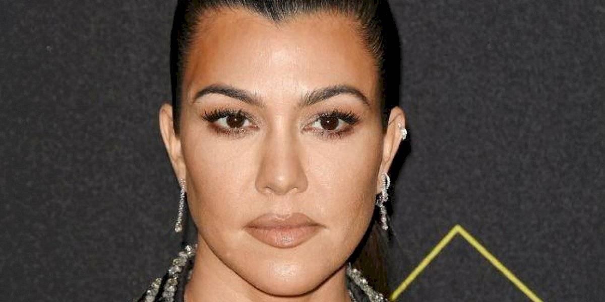 Kourtney Kardashian se lleva a los hijos de Kim y Kanye lejos de la polémica