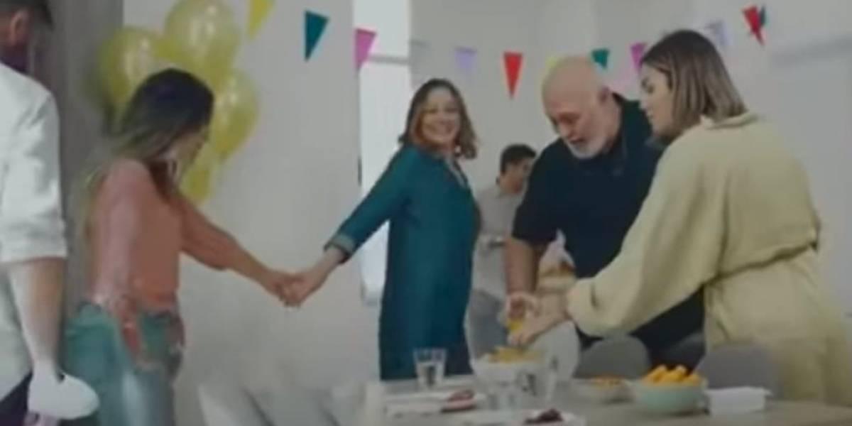 El impactante spot español que advierte sobre los contagios en reuniones familiares