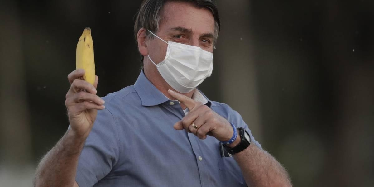 Bolsonaro dice que salió negativo en prueba de coronavirus