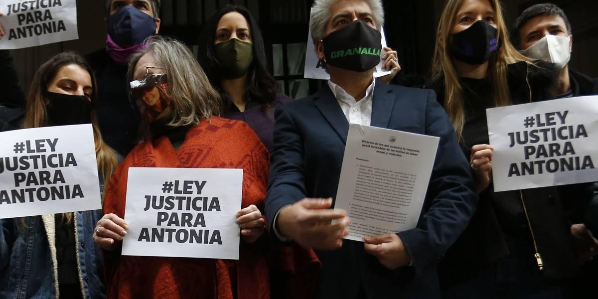 """""""Justicia para Antonia"""": el proyecto de ley que pretende mejorar el combate de delitos sexuales"""