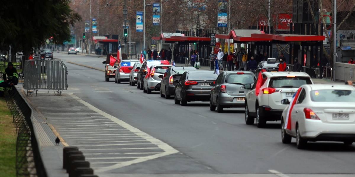 """Conductores de caravana del """"Rechazo"""" mantenían permisos temporales de """"compras de insumos básicos"""""""