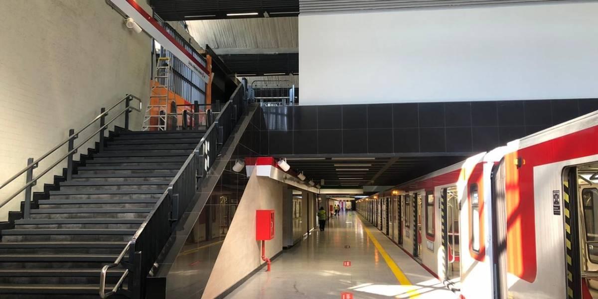 El emocionante recuerdo de presidente de Metro en reapertura de estación San Pablo