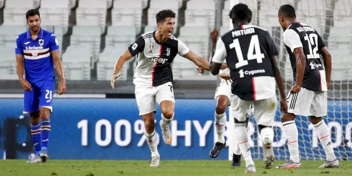 Juventus le ganó a Sampdoria y sumó su noveno título consecutivo en el Calcio