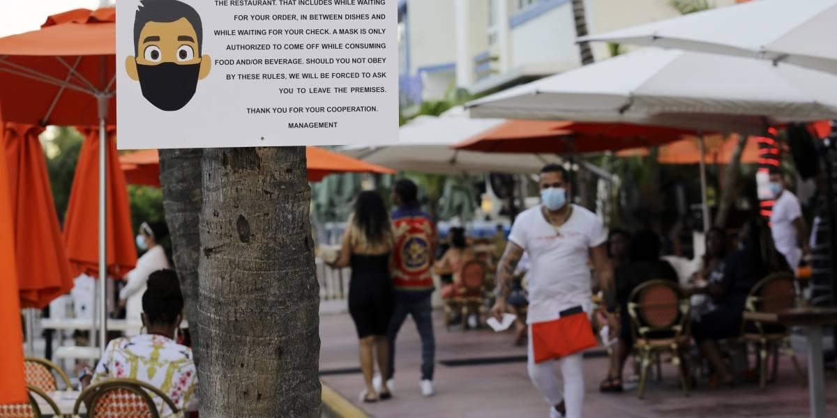 Florida supera a Nueva York en número de contagios