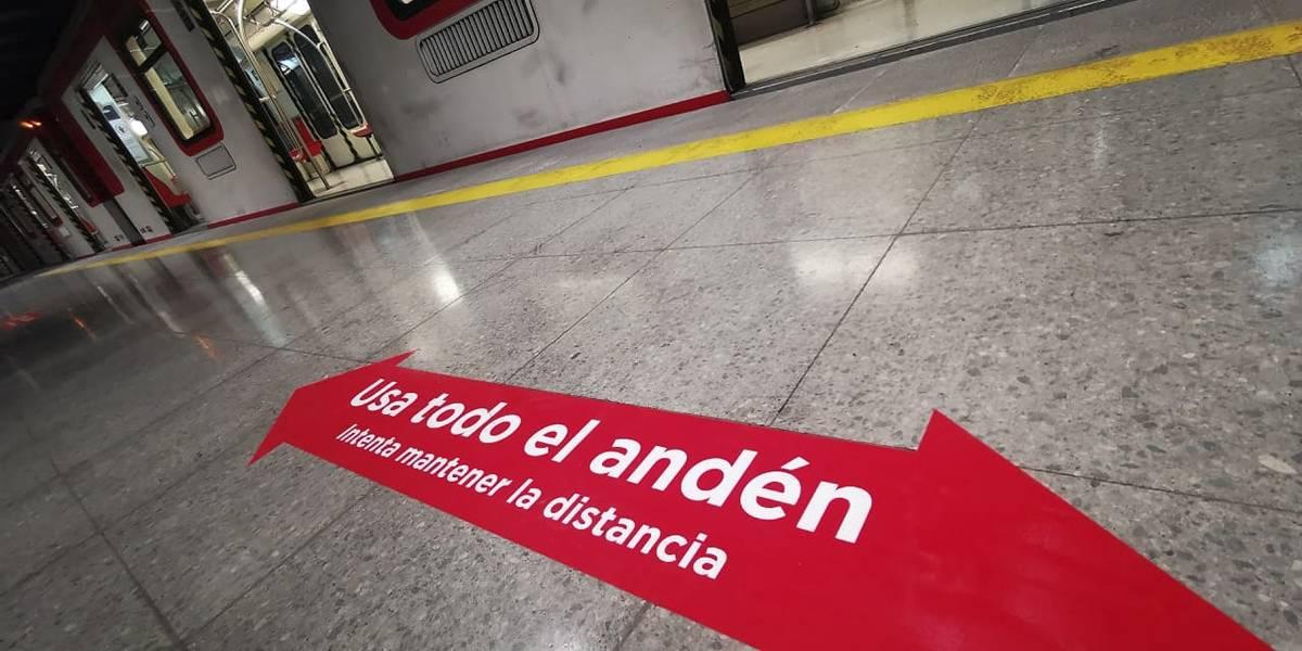 Metro vuelve a su horario normal de apertura: servicio inicia el martes a las 6.00 horas