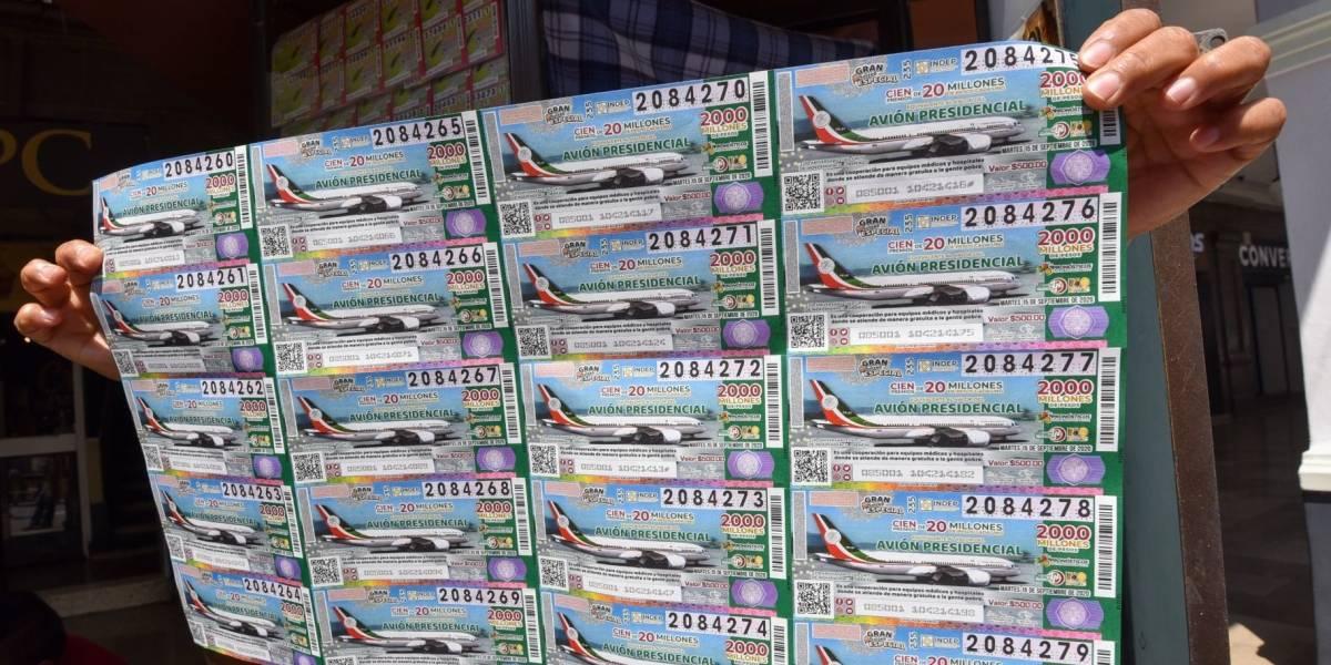 Morena venderá boletos para rifa del avión presidencial en San Lázaro