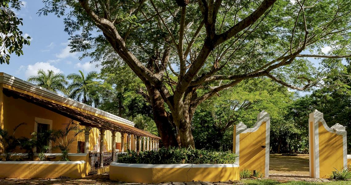 Conoce esta hacienda convertida en un oasis para hospedarte en Mérida