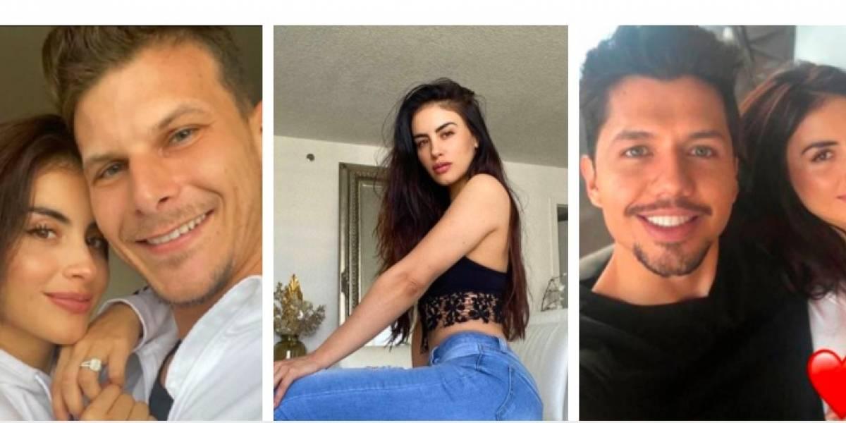 Jéssica Cediel habría vuelto con uno de sus ex, a pesar de tanto drama