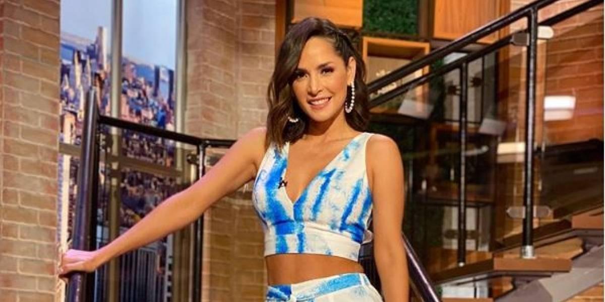 Carmen Villalobos enamora con sensual fotografía en ropa interior