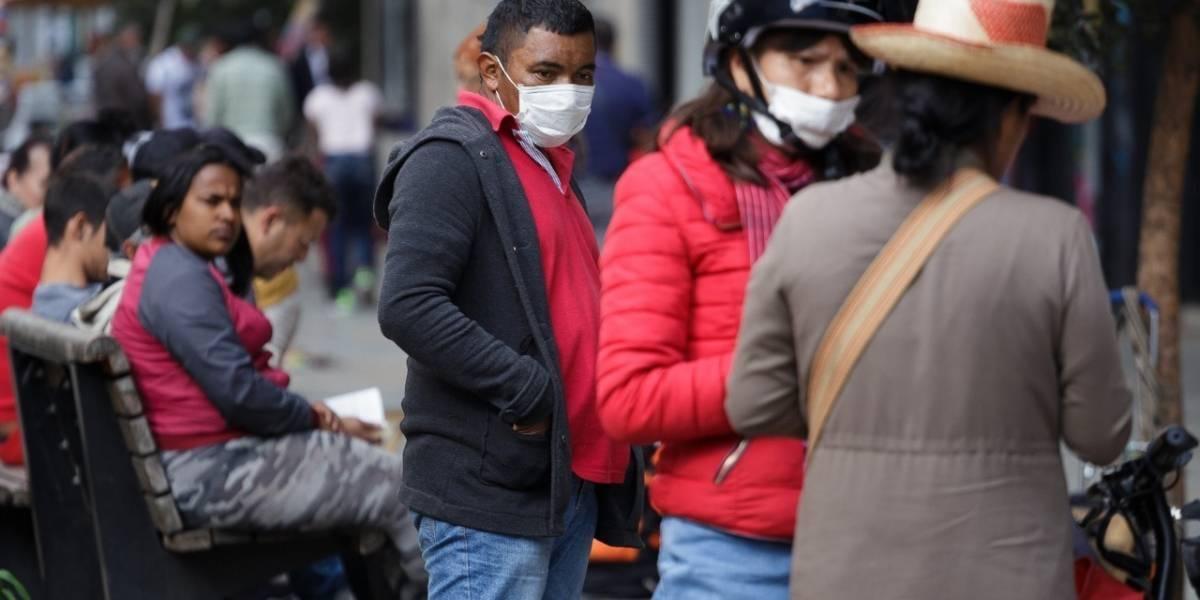 En Colombia inventan una inusual forma de protegerse del coronavirus