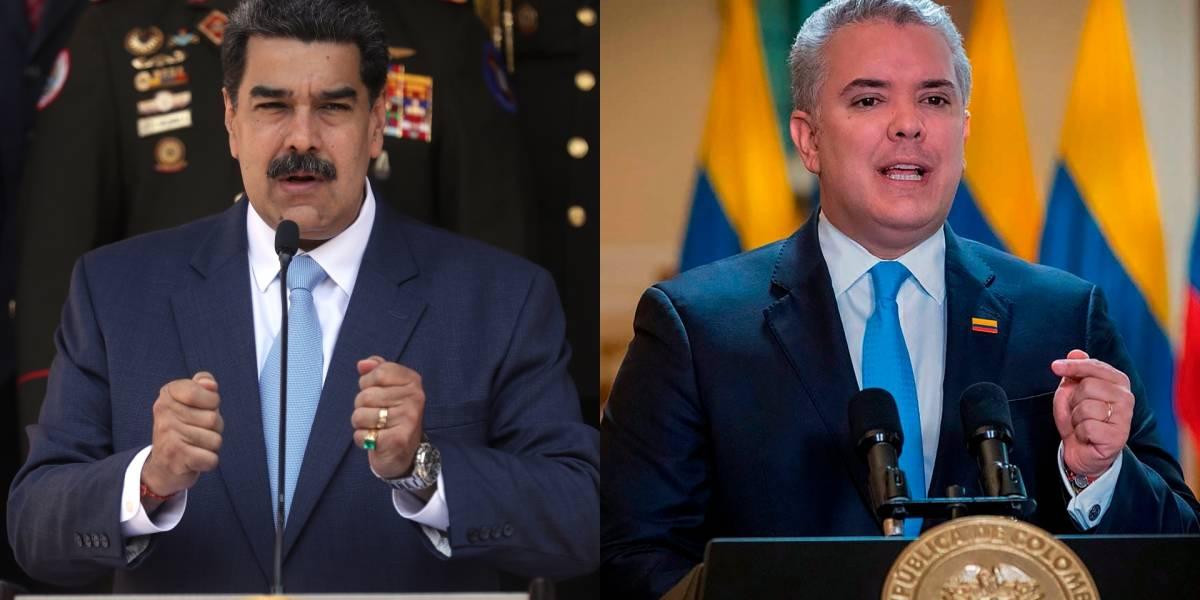 Encuentran foto de Maduro similar a la de Duque disfrazado de policía