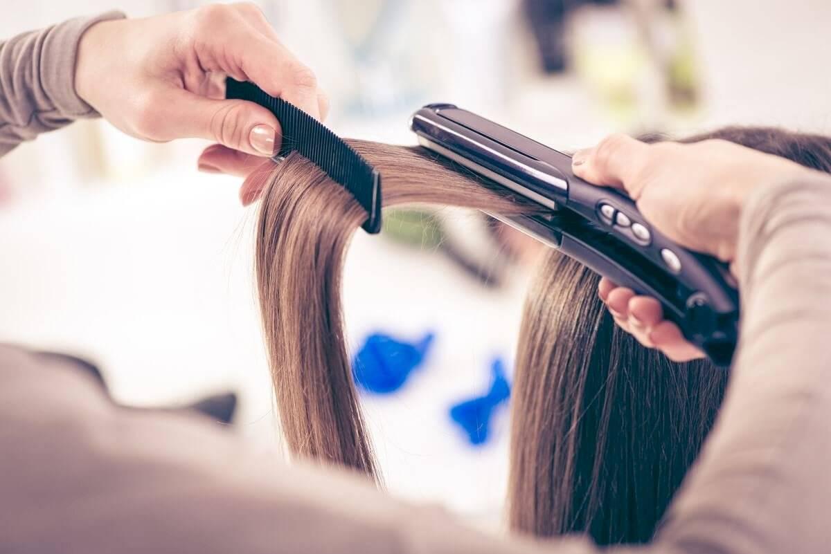 Planchado de cabello