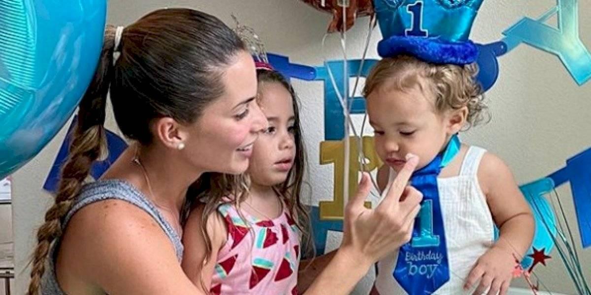 """Barea y Viviana Ortiz celebran primer año de su hijo """"Jay"""""""