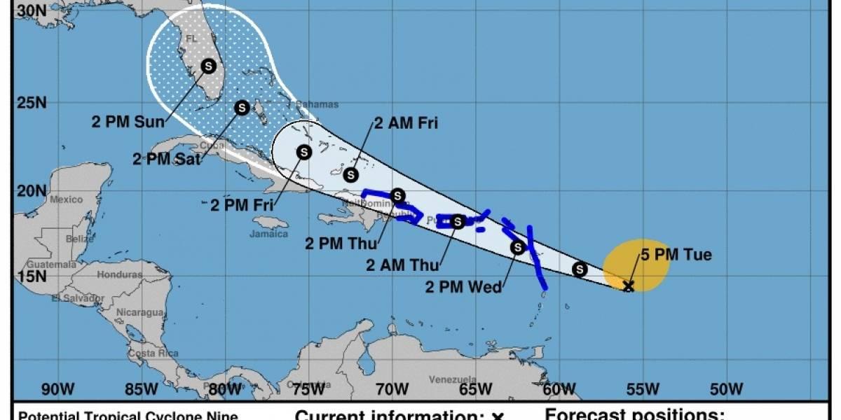 Centro de Huracanes espera que Invest-92 se convierta en tormenta tropical esta noche