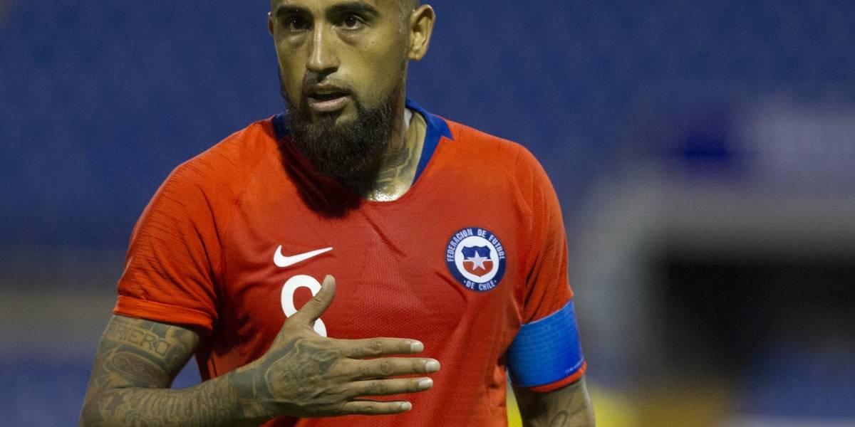 Vidal reafirma su fe en Rueda y apuesta por terminar su contrato en Barcelona