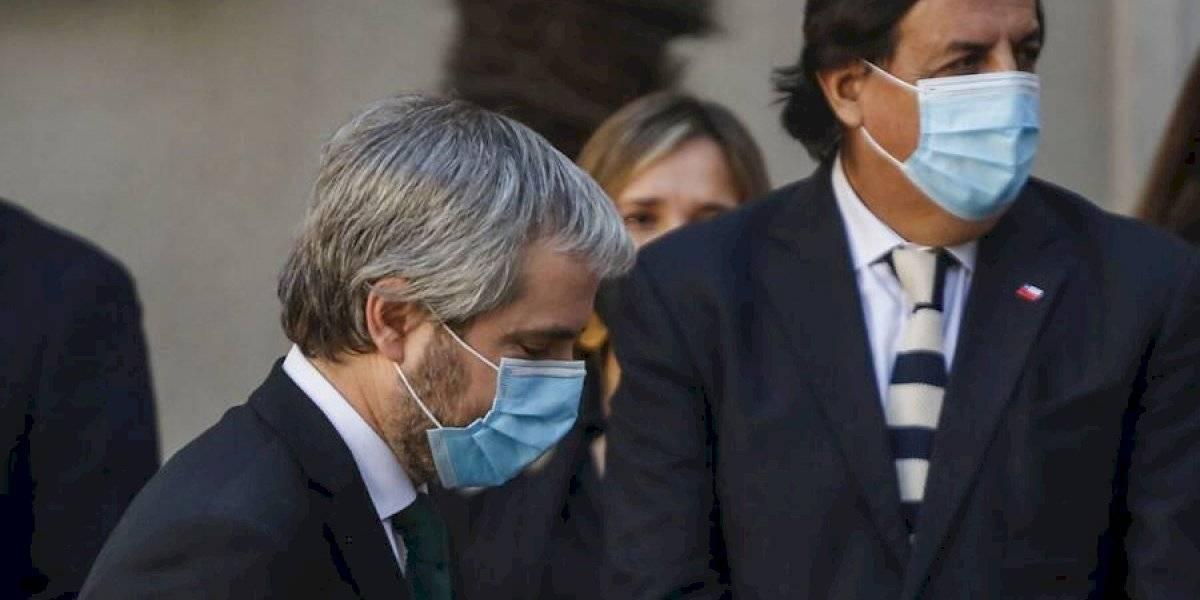 """Blumel en su adiós del Gobierno: """"Confío en que este cambio de gabinete nos permita cambiar la mirada"""""""