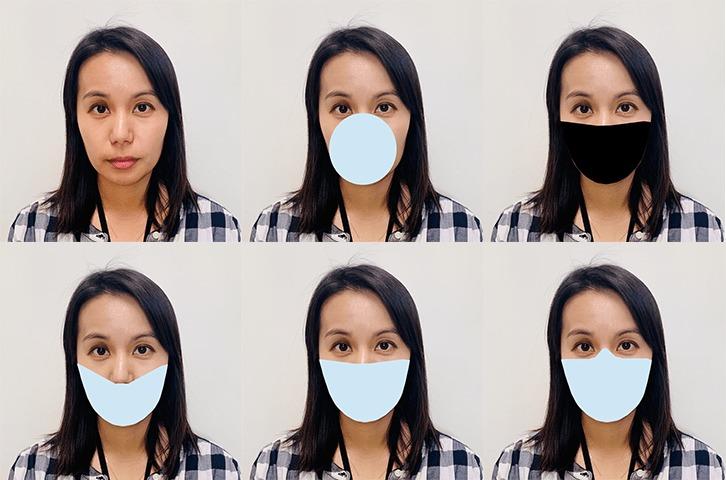 Mascarillas reconocimiento facial