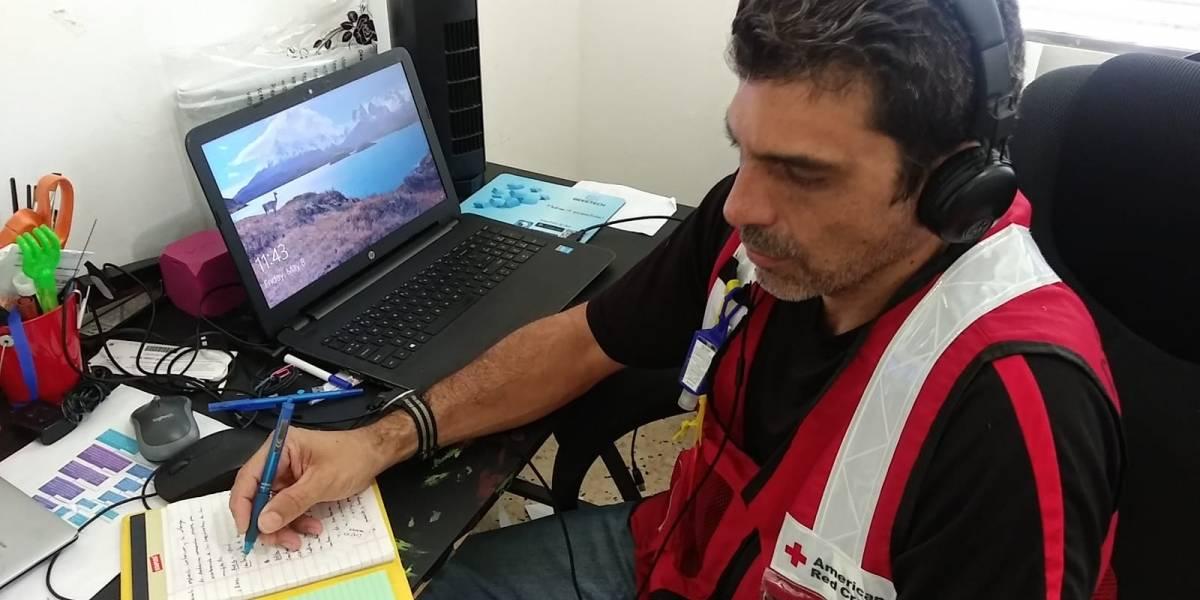 Cruz Roja ofrecerá respuesta virtual ante posible efecto de tormenta tropical