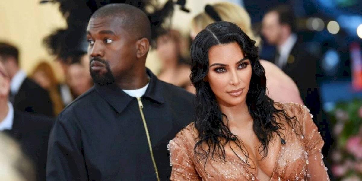 Un nuevo capítulo: captan a Kim Kardashian llorando junto a Kanye West