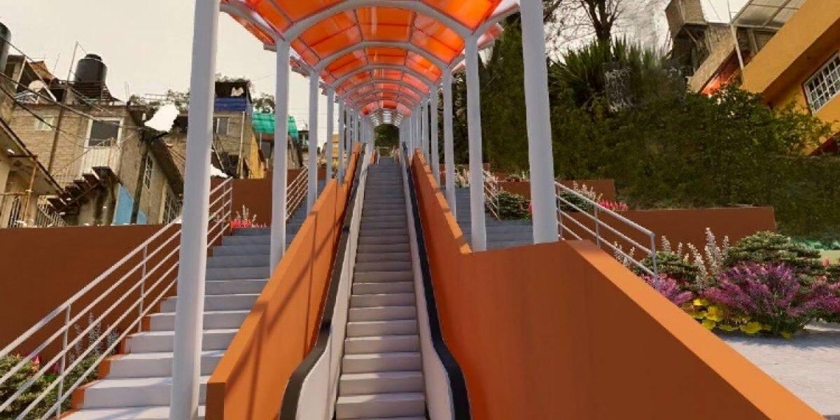 Conoce la primera calle en la CDMX que tendrá escaleras eléctricas