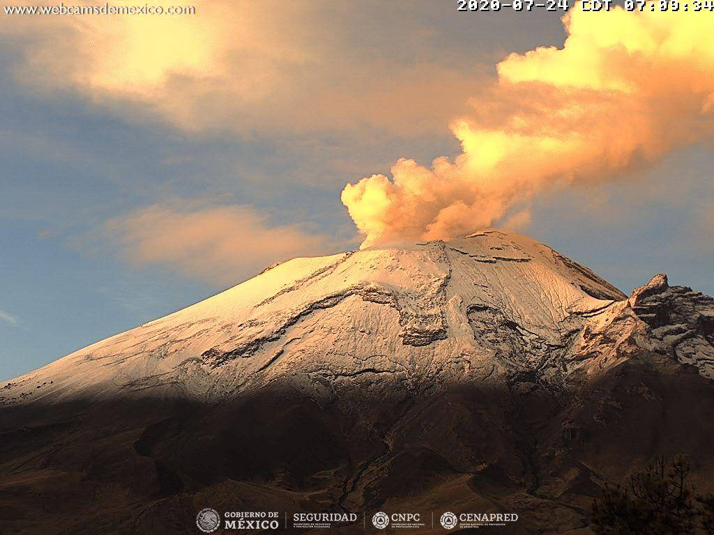 Popocatépetl volcanes