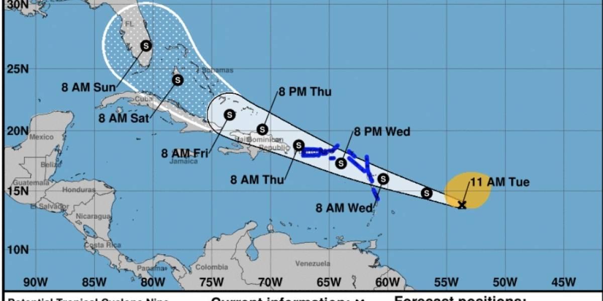 Aviso de tormenta para Puerto Rico e Islas Vírgenes