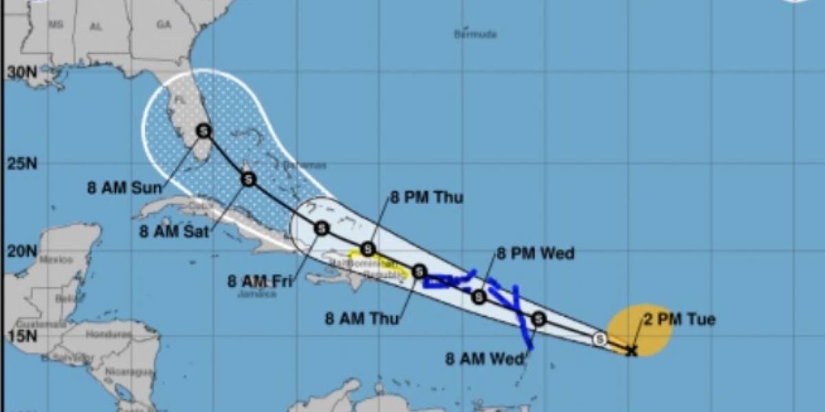 Potencial Ciclón 9 continúa rápido movimiento hacia el oeste