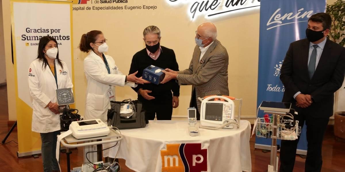 Sumar Juntos entrega 117 equipos médicos para tratamiento de pacientes con COVID-19