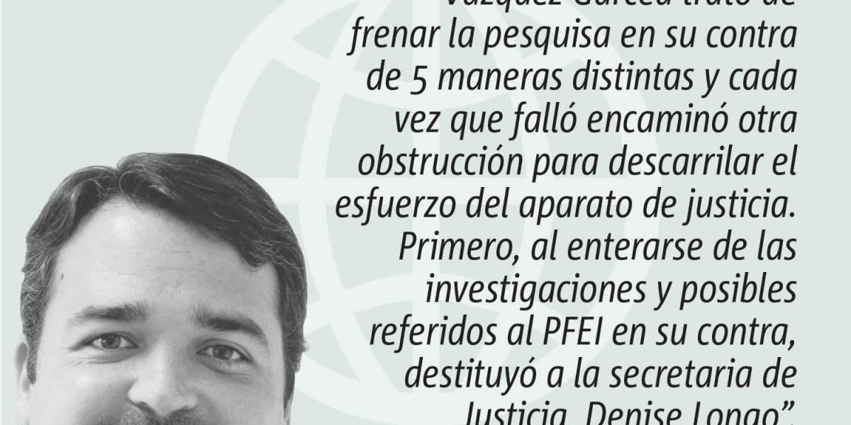 Opinión de Alejandro J. Figueroa: Obstrucción Fracasada