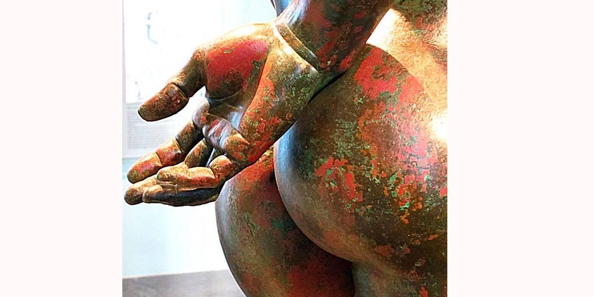 Museus concorrem pela escultura com 'bumbum mais bonito do mundo'