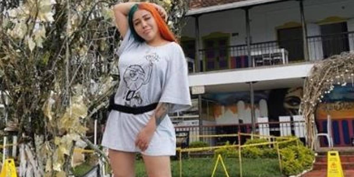 Así quedó el tatuaje de Yina Calderón luego de su cirugía de glúteos