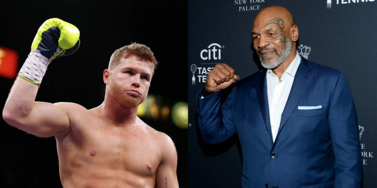 ¡Canelo Álvarez y Mike Tyson pelearían la misma noche!