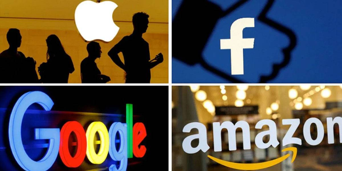 Facebook y Amazon duplican ganancias y Alphabet cae en 2T