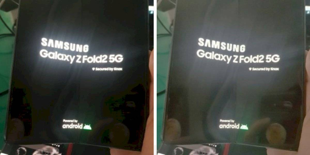 Se acabó: el Samsung Galaxy Z Fold 2 existe y se muestra en foto