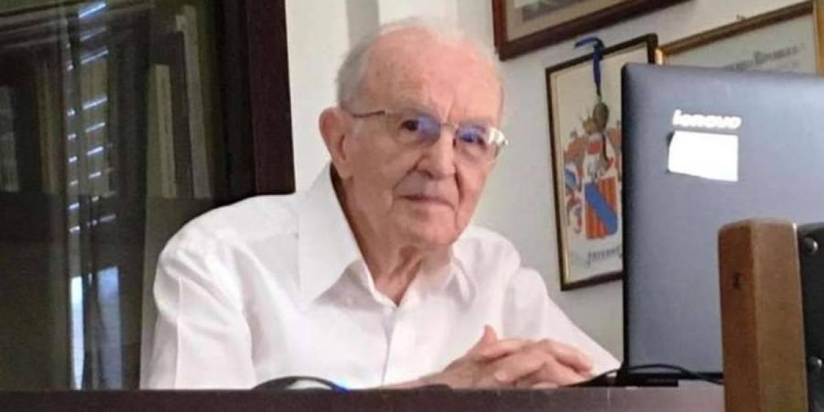 Admirable: italiano consigue título universitario a los 97 años
