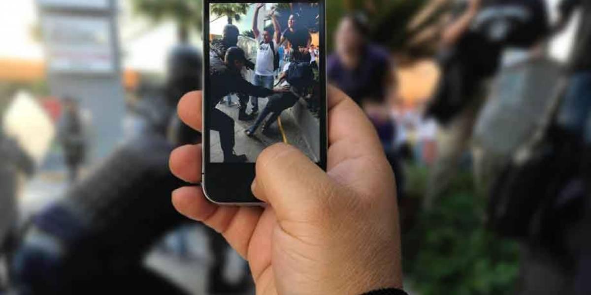 ¿Hay sanciones por grabar con el celular a los agentes de tránsito o policías?