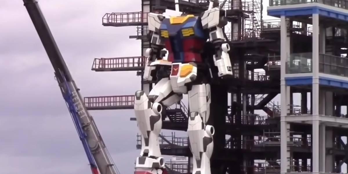 ¿Por qué Japón construyó un robot gigante de 18 metros de alto?