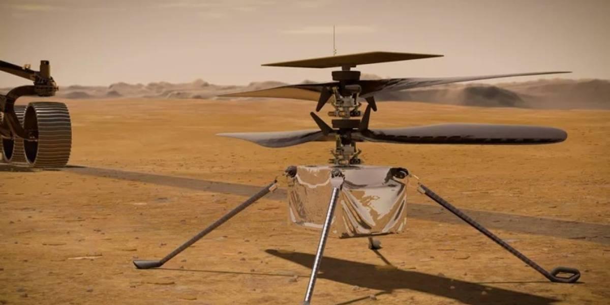 NASA: El helicóptero Ingenuity Mars alcanza su primer hito espacial