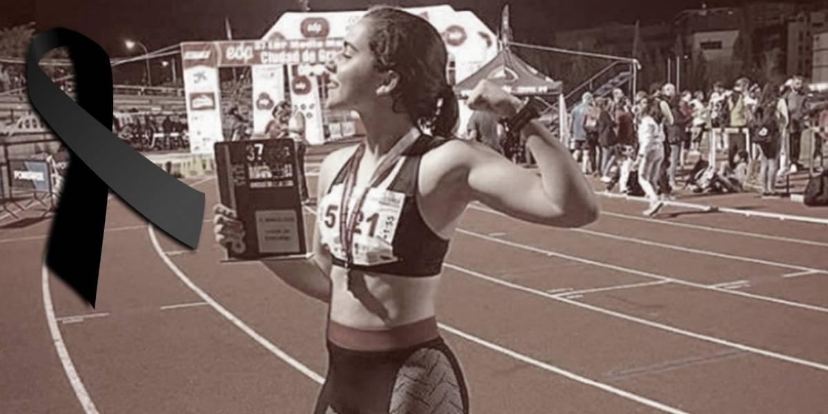 Muere atleta española de 19 años tras accidente automovilístico
